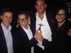 Mr D wins GOLD at the LOERIES for PR Campaign of the year.
