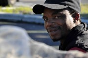 David Siphowe collects, recycles waste for a living