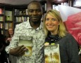 Jamala Safari and Lauren Beukes at the Book Lounge